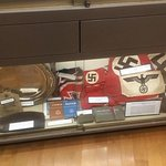 WW2 German Nazi flags, banners, armbands, and Army sports shirt eagle.....