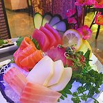 Amazing Sashimi display!
