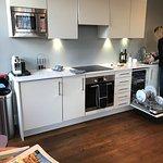 Kitchen in sitting room