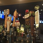 Rotating beers on tap