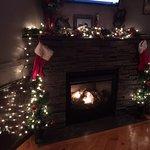 Bistro 11 - nice fireplace