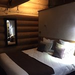 lit king size chalet de 33 m2 pour 4 personnes