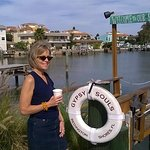 Intracoastal Coffee Stop. Get a cup to go and stroll to the Gulf of Mexico across the street!