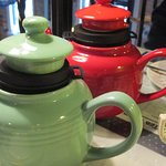 Order the individual teapots so you can refill your cup -- you'll be glad you did!