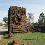 Park entrance off Hwy. 21 in Bastrop, Texas. The park was established in 1938.