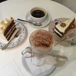 Hot drink and cake deal - £3.50