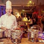 Cheff Marcos Barbier à frente da boa gastronomia!