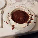 Fillet cooked in amarone