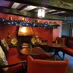 Lounge at the Main Entrance - Cosy log fire