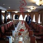 Ozdobiona sala na przyjecie urodzinowe
