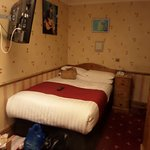 Bob Dylan room with double bed