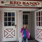 My littlest one and I had a blast eating lunch at Red Banjo!