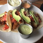 Red snapper fish tacos....delicious