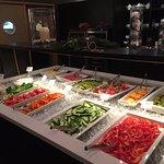 ontbijt buffet groente en fruit