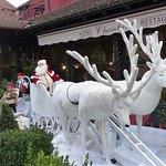 La déco de la terrasse en pleine période de Noel !