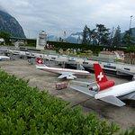 Zurich airport miniature.