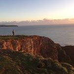 Sunset from Burgh Island
