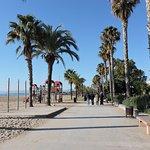 Paseo Marítimo, Salou, Provincia de Tarragona, España.