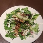 Fresh pear salad.... delicious!