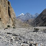 Rugged windy road to Jomsom