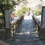 Historical bridge in Jomsom