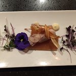 Crab salad Roulade