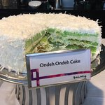 Special Singapore Cake... one of the many tasty afternoon treats they put out for guests.