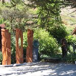 Totems in Big Sur
