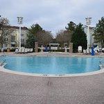 quiet pool in Congress Park