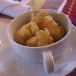 Bunelos for dessert
