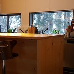 Kitchen with commercial grade coffee machine - bring the beans