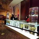 Ice Sculpture in the Casino