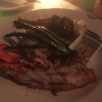 surf & turf better than Sir Winston Churchill's Queen Mary LB