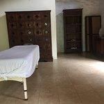 Massage area.