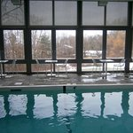Pool at Buttermilk Falls Inn