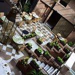 Vincci Albayzin Hotel view of inside courtyard