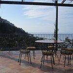 top floor terrace off breakfast room / lounge