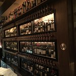 Panorama's amazing wine collection/dispenser taps