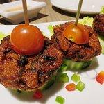 Thai Crab Cake Starter - Arawan Thai Bistro - Las Vegas (02/Jan/17).