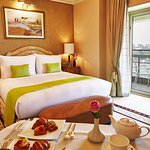 Nile Deluxe room with a balcony to enjoy the panoramic view of the Nile