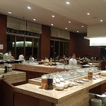 """The lavish buffet spread at """"collage"""" restaurant....get pampered"""