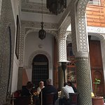 Courtyard of the Riad
