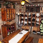 Under ground wine cellar dating back to  early 1900's