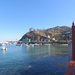 Family lunch at Antonio's Pizzeria at Avalon, Catalina Island.