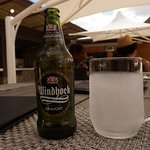 beer & chilled glass