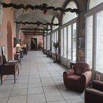 Ancienne galerie du cloître (?) donnant accès aux salles de restaurant