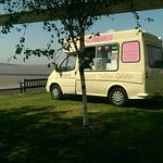 Nice view of the Humber bridge whilst you have a delicious ice cream