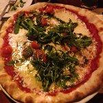 Pizza margherita (con rucola inclusa)