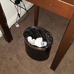 Rubbish not thrown away