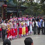 Dancers at Cuihu Park 翠湖公园 near the guesthouse.